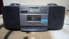 Radio Portatil Aiwa Es55 Funcionando