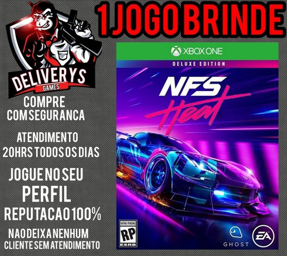 Need For Speed Heat Xbox One Midia Digital + 1 Brinde