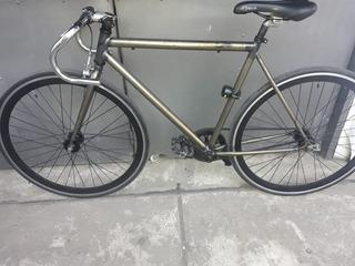 Bicicleta Fixie Rat Rod Flip Flop Veloxie Ruta Carrera