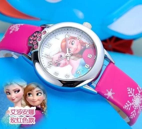 Relógio Frozen Infantil Meninas Crianças