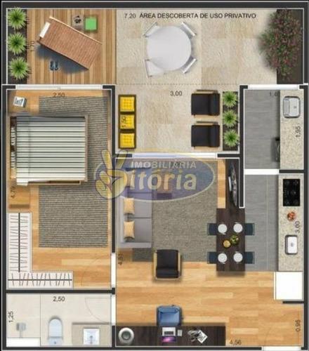 Imagem 1 de 5 de Apartamento  Venda  Nova Gerty, 1 Dorm, 1 Vagas, 46,88 M+14,65 - 9503