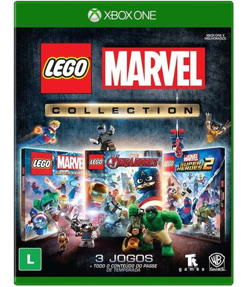 Game Lego Marvel Collection Xbox One Midia Fisica Português
