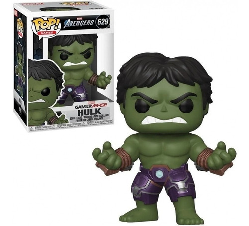 Hulk Funko Pop 629 Gamerverse Avengers Marvel