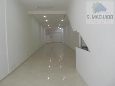 Salão Comercial Para Locação Em Santo André, Vila Curuça - Lo0233