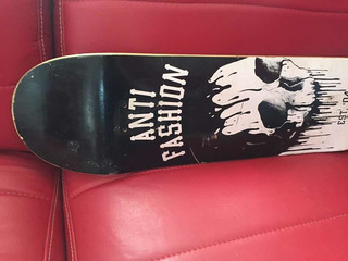 Tabla Usada Antifashion - Skate , Lija Naranja