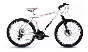 Bicicleta Aro 26 Wny Alumínio 21v Kit Shimano Freio Disco