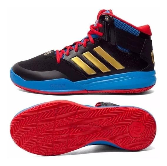 Tênis Basquete adidas D Rose 773 Iv Td Azul Derrick Bulls
