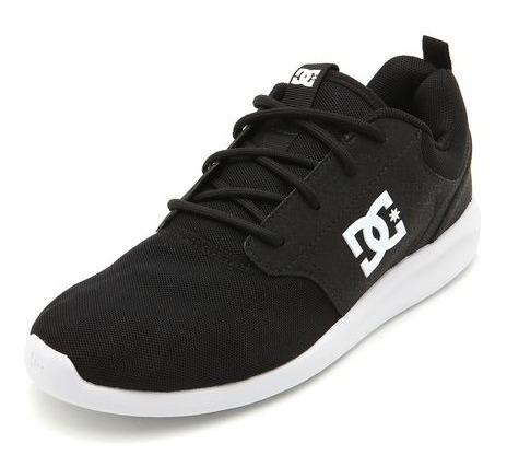 Tênis Dc Shoes Midway Black Masculino - Preto