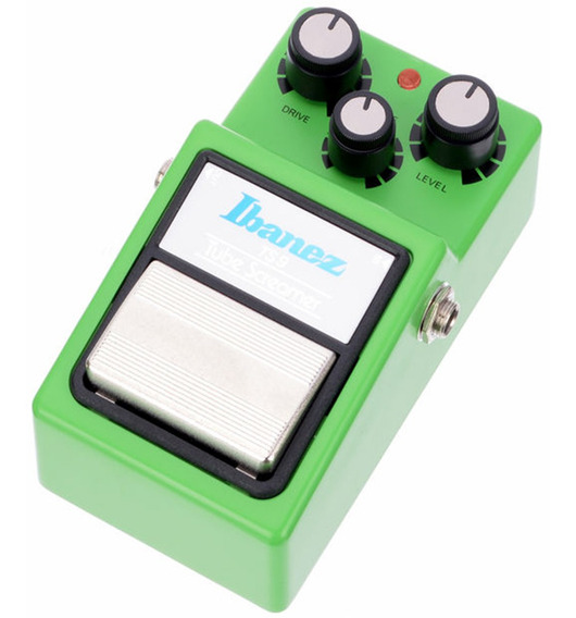 Pedaleira Pedal Ibanez Tube Screamer Ts9 Tone Level Drive Guitarra Baixo Novo