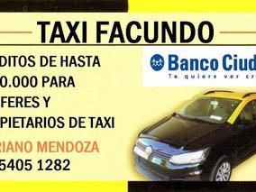 Licencia De Taxi Caba - 2010 Desafectada Libre De Deuda