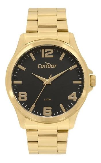 Kit Relógio Masculino Condor Com Pulseira Co2035mpi/k4p