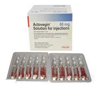 Actovegin 25 Viales 80 Mg