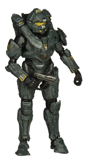Figura Acción Halo 5 Guardians Series 1 Spartan Fred Oferta