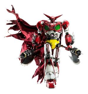 Getter Robot 1 Premium Scale Figura Threezero - Robot Negro