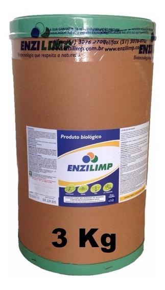 Enzilimp Biodegradador 3 Kg - Limpa Fossa E Caixa Gordura