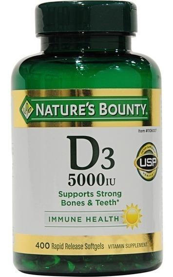 Suplementos - Vitamina D3 (123mc / 5000 Iu)