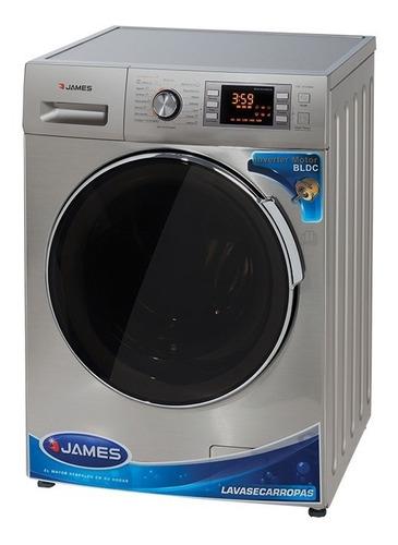 Lavasecarropa James 1016 10kg Silver Nuevo Modelo Yanett