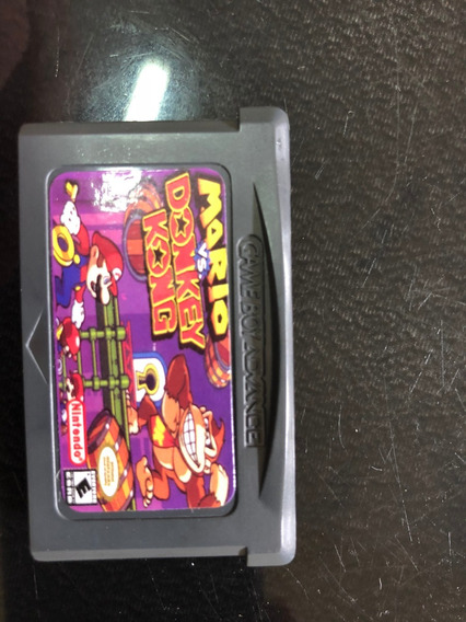 Mario Vs. Donkey Kong (nintendo Game Boy Advance, 2004) Raro