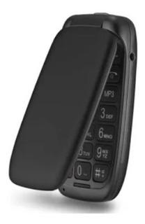 Celular Flip Multilaser Up Dual Chip Mp3 Preto - P9022