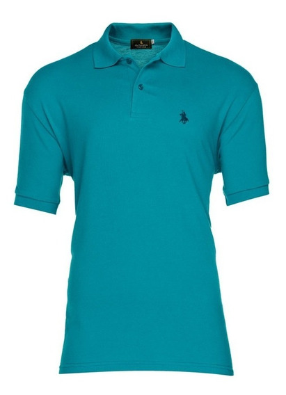 Playera Polo Club - Cobalto