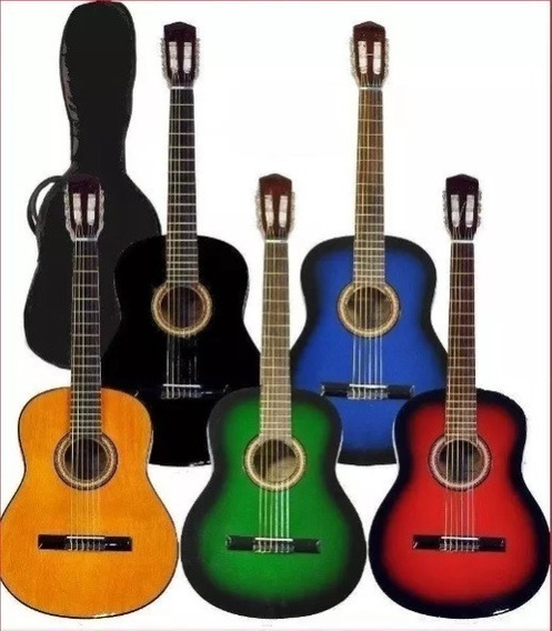 Guitarra Criolla Funda De Regalo Sin Interes Hot Sale