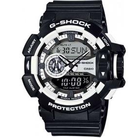 Relógio Casio G-shock Ga-400-1adr H.mundial 5 Alarmes 200m P