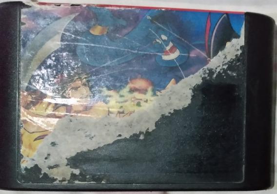 Cartucho Mega Drive - Jogo - Aladdin - Paralelo ( Leia )
