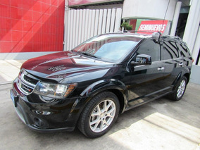 Dodge Journey 2016 Rt 7 Pasajeros Negra Impecable C/garantia