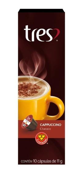 Cappuccino Três Corações Classic 10 Cápsulas
