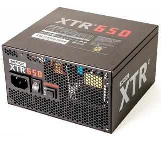 Fonte Atx 650w Xtr2 Modular 80 Plus Gold P1-0650-xtr2 Xfx