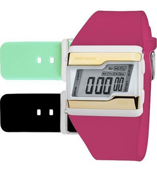 Relógio Mormaii Digital Esportivo Troca Pulseiras Fzv/t8q