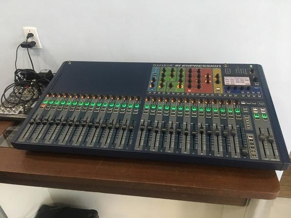 Mesa De Som Soundcraft Si Expression 3 32 Canais