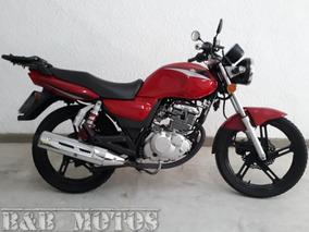 Suzuki Grs 150 2016 Vermelha N Honda Cg 150 Fan Riva Fazer