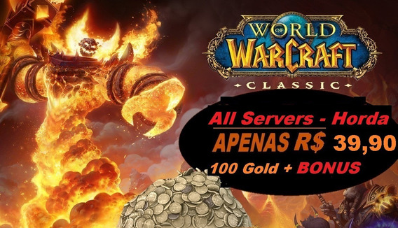 Wow Classic Gold -todos Servidores - Horde 2000g (2k)