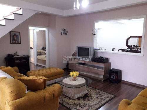 Sobrado Com 4 Dormitórios À Venda, 375 M² Por R$ 800.000,00 - Vila Olga - São Bernardo Do Campo/sp - So0361