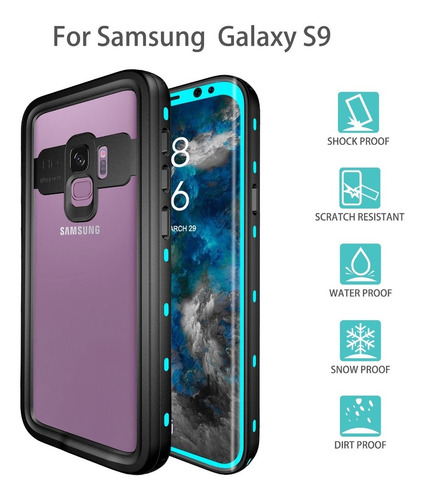 Funda Impermeable Samsung Galaxy S9
