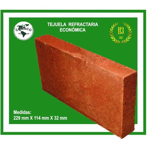 10 Tejuela Refractaria  Para Estufa Economico