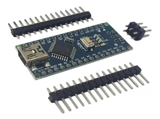 Arduino Nano V3 Atmega328 Ch340g + Placas De Pinos
