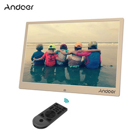 Digital Foto Quadro Andoer 13inch Reino Unido Ouro