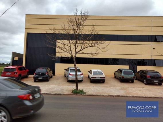 Galpão Para Locação, 748m² - Centro Empresarial Castelo Branco - Boituva/sp - Ga0301