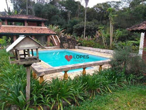 Chácara Com 2 Dormitórios À Venda, 10000 M² Por R$ 765.000,00 - Luiz Fagundes - Mairiporã/sp - Ch0013