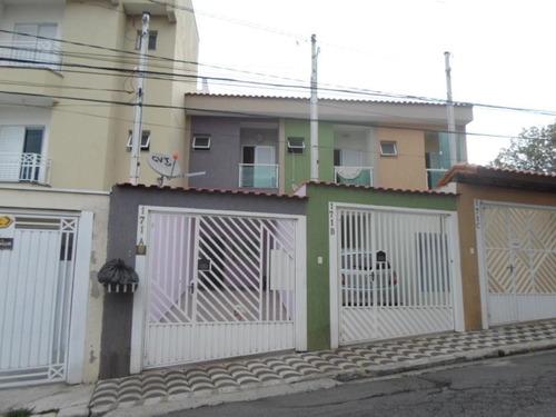 Imagem 1 de 24 de Sobrado À Venda, 3 Quartos, 3 Suítes, 2 Vagas, Eldízia - Santo André/sp - 41625
