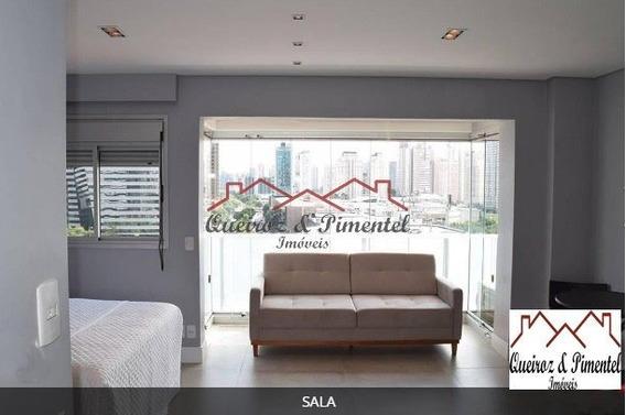 Apartamento Para Alugar No Bairro Santo Amaro Em São Paulo - 1488-2