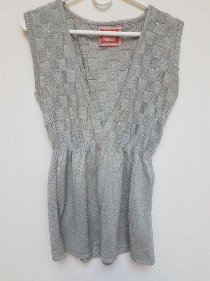 Sweater Chaleco Mujer Las Pepas Talle 1