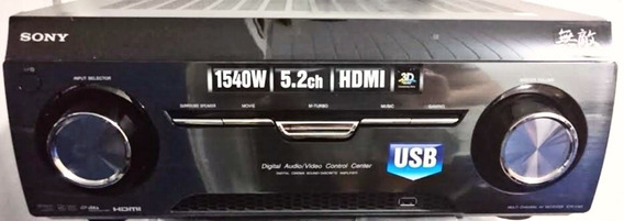 Receiver Sony Muteki K3sw 5.2 1540 Rms 3d Usb Arc Hdmi Novo