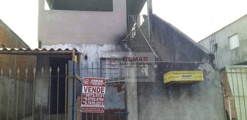 Imagem 1 de 1 de Sobrado Com 2 Dormitórios À Venda, 110 M² Por R$ 130.000,00 - Parque Residencial Salerno (nova Veneza) - Sumaré/sp - So0123