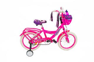 Bicicleta Paelmo Full C. Curvo R16 C/ Guardabarro Y Canasto