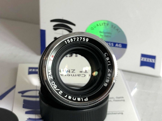 Lente Carl Zeiss Planar T* 50mm F/2 Para Leica M M3 M6 M7