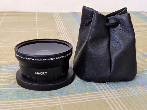 Lente Dslr Pro Mc Digital Wild Converter W/macro 0.45x67mm