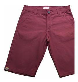 Bermuda Short Shortes Calçao Masculino Bolso Faca Casual
